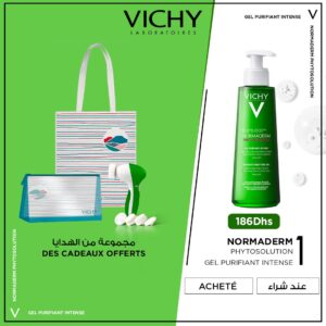 vichy normaderm phytosolution gel purifiant intense peau grasse acneique 400ml optimized